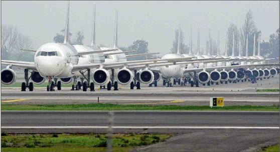 Tráfico aéreo a mayo suma más de un millón de pasajeros adicionales