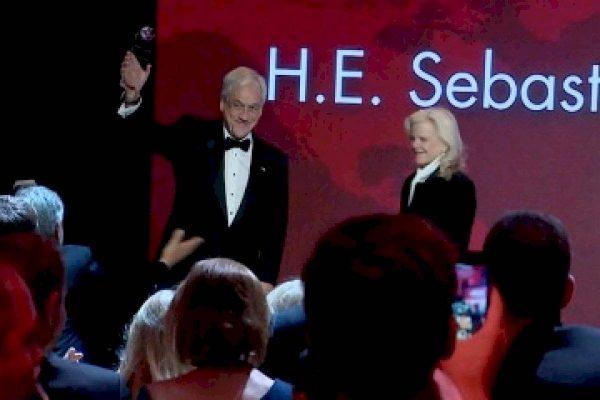 Presidente Piñera será premiado por su lucha contra el cambio climático